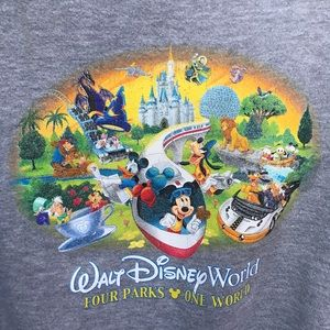 Disney World Sweatshirt Youth Large